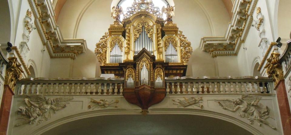 Exkurze u varhan v kostele sv. Ignáce z Loyoly na Karlově  náměstí v Praze